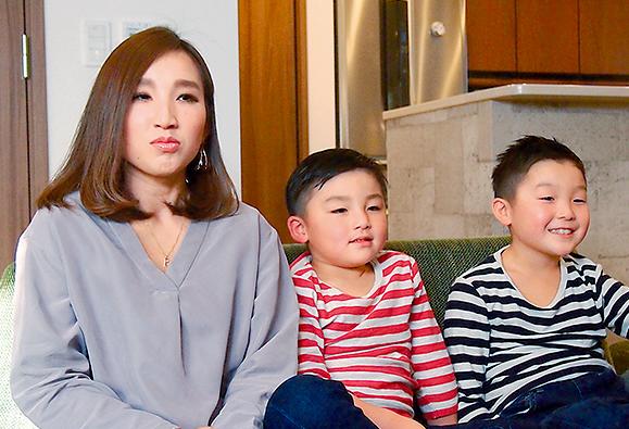 4人家族で戸建てに住んでいる阿部さん
