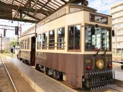 子連れ鹿児島観光はこれで決まり!!観光レトロ電車「かごでん」に乗ってきました♪