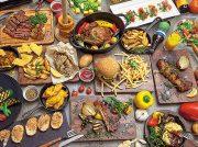 【New Open】平日は肉とバーガー・土日はランチバイキングのレストラン「Nikanbashi Burger Bar」