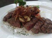 牛ランプ肉の赤身のステーキがおいしい!テラス席ではBBQも☆大阪・京橋「テラス」