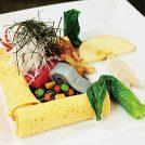 VOL.87魚介と竹炭おこげ野菜果実添えかくしがまえ仕立て