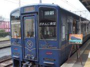 鹿児島観光、列車の旅でゆっくり流れる時間と食を満喫!おれんじ食堂(アフタヌーン)を体験