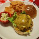 【宇都宮】古きよきアメリカ!Toner's DINERのハンバーガー