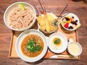 名古屋パルコ、レストランフロアに新店続々!キーマうどんの「京都四条くをん」、干物定食の「奥山安蔵商店ヒモノ照ラス」を食レポ