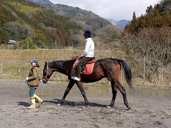 乗馬体験中@P2320755
