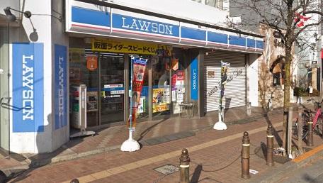 福生駅・ローソン2