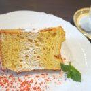 大きなシフォンケーキに大満足♪アートも楽しめる茨木のギャラリーカフェ「ガカ」