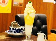 鉄板ホットケーキが美味しいことで有名。岐阜のレトロ喫茶「敷島珈琲店」