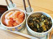 明太子に高菜が食べ放題の1000円ランチが大人気!「博多もつ鍋 やまや ビエラ高槻店」