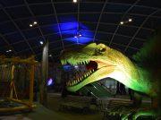 ナガシマスパードームで春休み限定「恐竜島の大冒険」が開催中!Tレックス、ステゴサウルスも