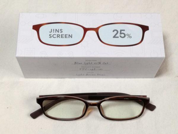 【PCメガネ】4月10日まで、10%お得!ジンズのブルーライトカットメガネ