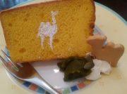 もっちり軽いシフォンケーキに大満足!大阪・谷四「Tea Room 森のらくだ」