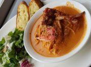 レストランDONで絶品の渡り蟹クリームパスタを食べてみた!@秋谷