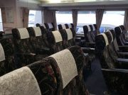 +500円のゆったり静かな乗り心地 松山-広島スーパージェット「スーパーシート」