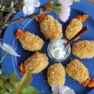 【食の楽しさ育むレシピ】ぷりぷりお豆腐エビフライ