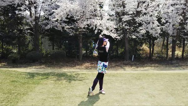 花見だけじゃない!ゴルフ場は○○○の穴場なんです。