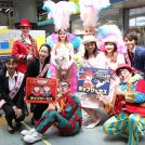 「ポップサーカス湘南公演」を記念 湘南モノレールにポップサーカス号登場