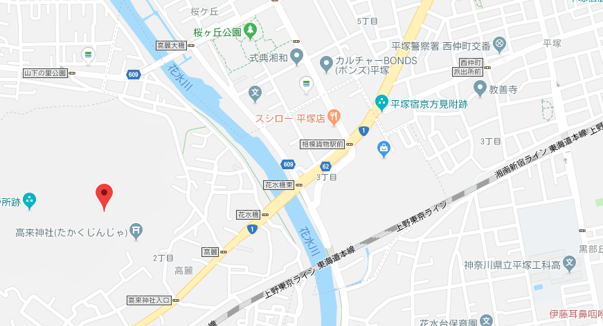 平塚マップ