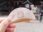 【宇都宮】箸で引くおみくじ!?幸せ包む餃子の形のおみくじが話題「宇都宮二荒山神社」