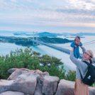 0歳と行く岡山の観光スポット鷲羽山展望台@倉敷児島