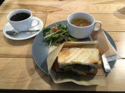 ランチはローストビーフサンド♪大阪・難波のおしゃカフェ「ザ・リタコーヒー」♪