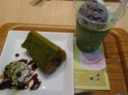 和カフェでのんびり。美味しいスイーツはいかが? 「ナナズグリーンティー」@ららぽーと