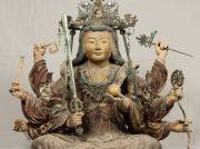 江島神社の「木造弁才天坐像」 国の重要文化財(美術工芸品)に