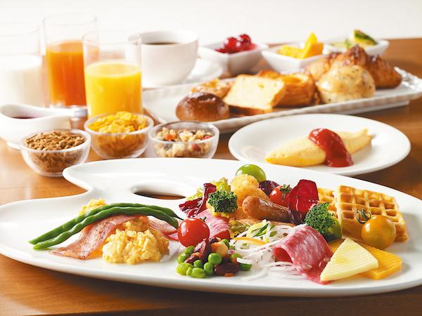地元ホテルで味わう絶品朝ごはん