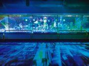 架空の未来都市と横浜の風景が融合 8/31(土)まで夜景イベントが開催