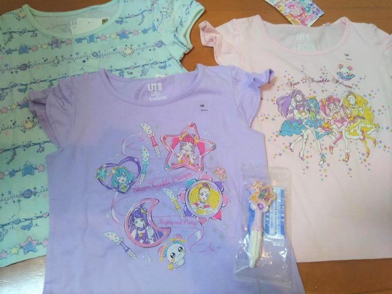 【ユニクロ】可愛すぎる!スター☆トゥインクルプリキュアのTシャツ発売!