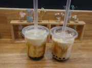 大阪・堀江に4月末オープン!「ナイス タピオカ」で黒糖タピオカミルクを♪