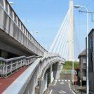 四谷橋は20年前開通した20号線が走る橋@府中