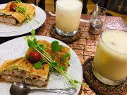 豊中・千里中央「喫茶 いち」で揚げたてカツサンドと懐かしのミルクセーキ!