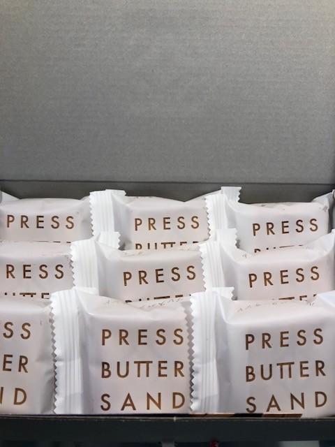 高島屋 プレス バター サンド