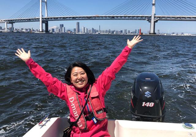 マリンスポーツの楽しさ実感!感動の横浜クルージング体験