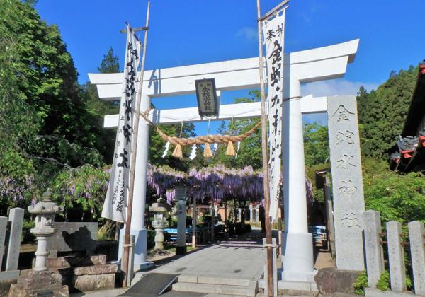 金蛇水神社 花まつり