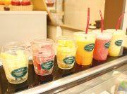 【リニューアル】高級果実店「くだものの店 カコイ」がフレッシュジュースとカットフルーツの販売スタート@天文館