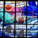 綺麗なステンドグラスと富士山が楽しめます!@拝島駅