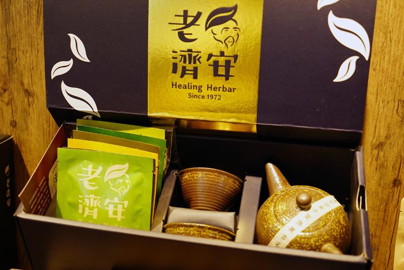台北・台湾ハーブティー店「老濟安」商品