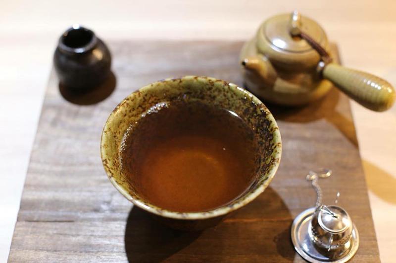 台北・台湾ハーブティー店「老濟安」お茶