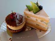 神戸・東灘に誕生「アトリエ シェリム」の美しい大きめケーキに息を呑む♪
