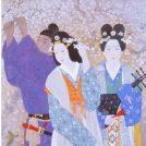 桐蔭学園 アカデミウム ソフォスホールで「日本画でみる万葉集」開催中