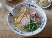 甘めのあっさりスープ、中華そば「さくや」@松前 国道56号線沿い