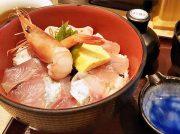 ネタ切れ次第終了!新鮮な海鮮丼を堪能できる、塩釜口「丼いなはん」