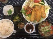 山盛り野菜のアジフライ定食に大満足!!「おふくわけ」@三鷹