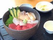 ぷりぷり海鮮丼に藻塩に藻塩スイーツ★フォルクスワーゲン【up!】で塩釜めぐり