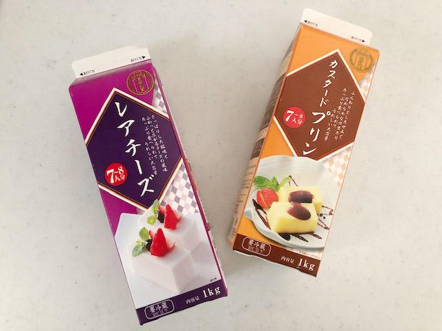 【業務スーパー】味もコスパも抜群!牛乳パックデザートシリーズ