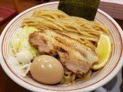 香味焙煎麺のつけ麺がウマイ!自家製麺はもちもち!大阪・天満橋「山麺」