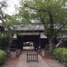 旧吉田家住宅を描いた、末武芳一のペン画展