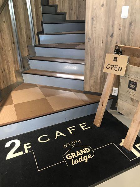 カフェ階段
